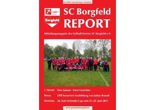 Juni 2013 - SC Borgfeld e.V.