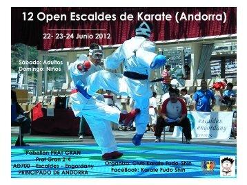 12 Open Escaldes Karate - 2012.pdf - Sportdata.org