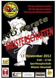 NÖ Kyu LM 2012 Ausschreibung.pdf - Sportdata.org
