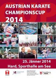 Ausschreibung CHAMPIONSCUP 2014 - Sportdata.org