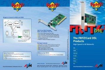 FRITZ! DSL engl. 09/03 - Icecat