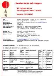 40.Fujimura Cup Swiss Ippon Shobu Turnier - Sportdata.org