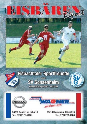 SV Gonsenheim - Sportfreunde Eisbachtal 1919 eV