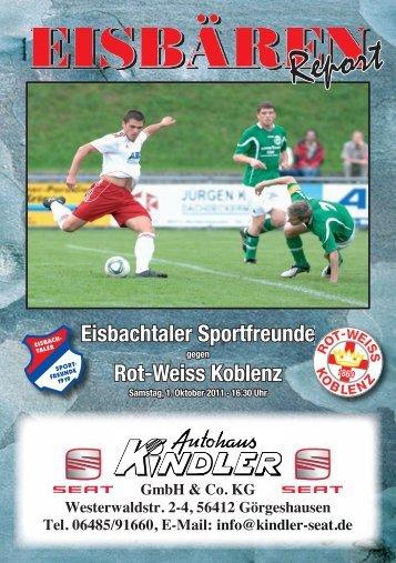 Eisbachtal, Stadionzeitung Ausgabe 05.indd