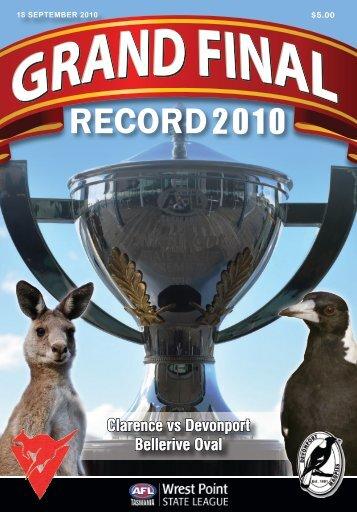 Clarence vs Devonport Bellerive Oval Clarence vs Devonport