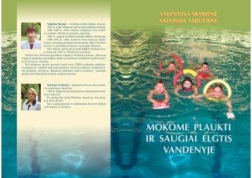 plaukimo knyga - Lietuvos sporto informacijos centras