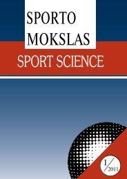 Nr. 1(63) - Lietuvos sporto informacijos centras