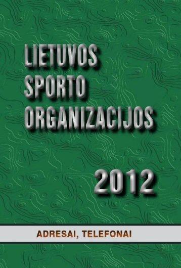 Untitled - Lietuvos sporto informacijos centras