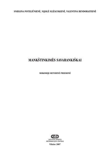 mankštinkimės savarankiškai - Lietuvos sporto informacijos centras