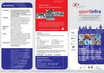 Nachhaltige Räume für den Sport / Nachhaltiges ... - Sportinfra