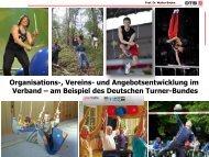 Organisations-, Vereins- und Angebotsentwicklung im ... - Sportinfra