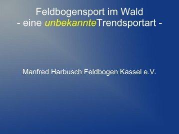 Feldbogensport im Wald - Sportinfra