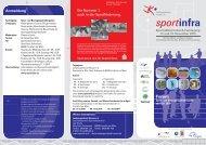Sport- und Bewegungskindergarten - Sportinfra
