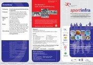 Anmeldung - Sportinfra