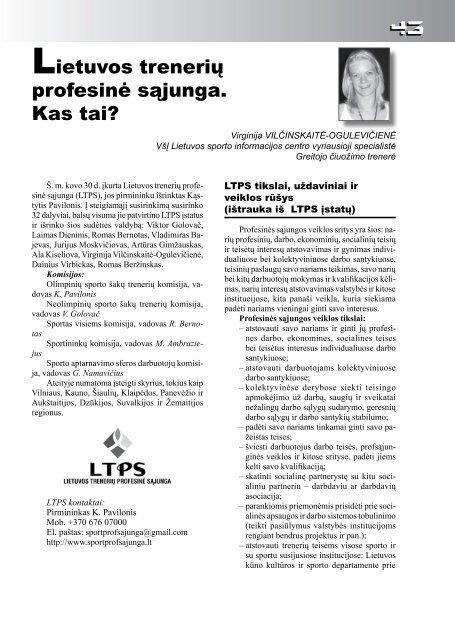 Nr. 1-2 - Lietuvos sporto informacijos centras