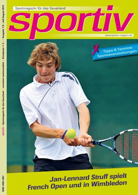 Juli/August 2013 - Sportiv