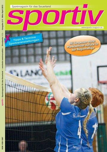 März/April 2013 - Sportiv