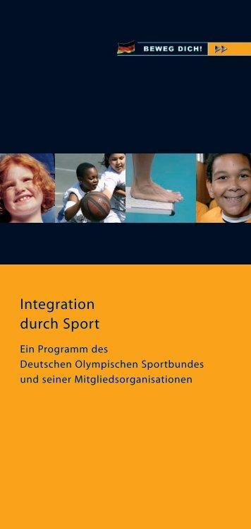 Integration durch Sport - Sportjugend Hessen