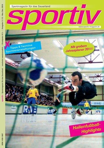 November/Dezember 2010 - Sportiv