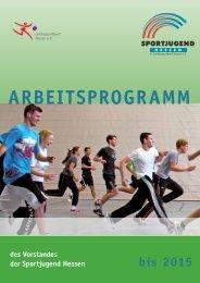 ARBEITSPROGRAMM - Sportjugend Hessen