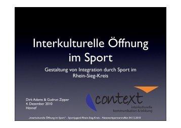 PPP Context - Sportjugend Rhein-Sieg