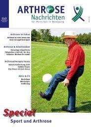 Arthrose Nachrichten – Mai 2013 – für Menschen ... - Arcus Sportklinik