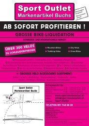 Flyer Buchs - Sport Outlet