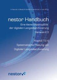 """12.4 """"Systematische Planung von Digitaler ... - nestor"""