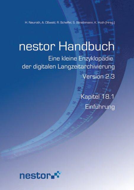 18.1 Einführung - nestor