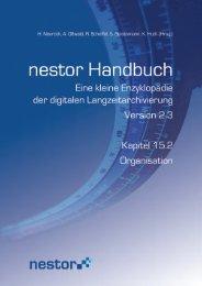 15.2 Organisation - nestor