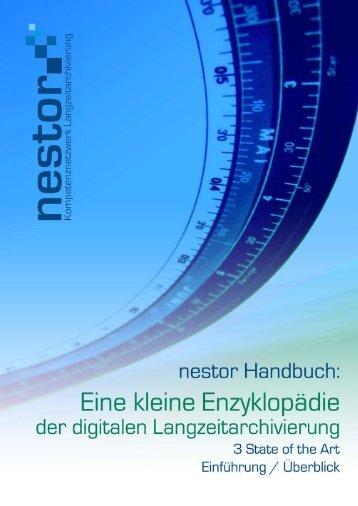LZA-Aktivitäten in Deutschland aus dem Blickwinkel von nestor