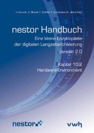 Kapitel 10.2 Hardware-Environment - nestor