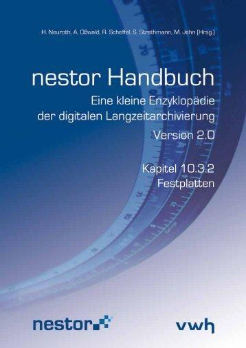 Kapitel 10.3.2 Festplatten - nestor