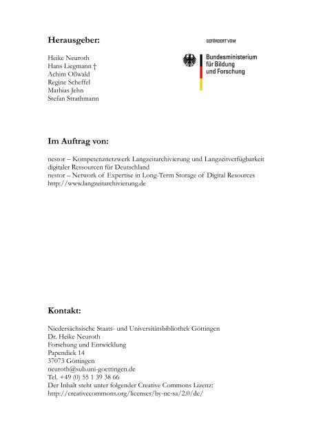 7 Das Referenzmodell OAIS - Open Archival In- formation ... - nestor