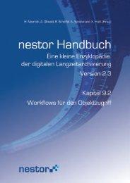 9.2 Workflows für den Objektzugriff - nestor