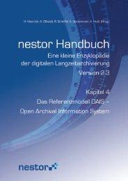 Open Archival Information System - nestor