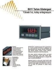 Yüksek hız, kolay entegrasyon BX11 Tartım Göstergesi - BAYKON ...