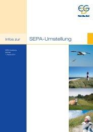 SEPA-Broschüre mit Hinweisen für Lastschrifteinreicher