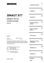SINAUT ST7
