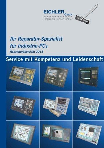 Ihr Reparatur-Spezialist für Industrie-PCs Service ... - Eichler GmbH