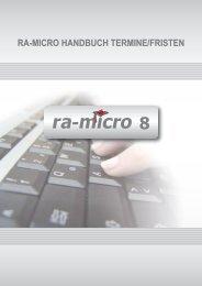 ra-micro Handbuch T Termine/Fristen, Stand: 22.03.2011