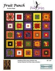 Fruit Punch by Diane Nagle - RJR Fabrics