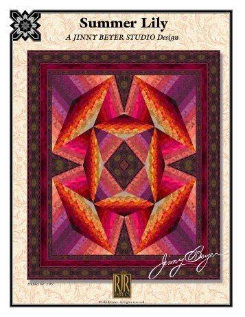 Summer Lily - RJR Fabrics