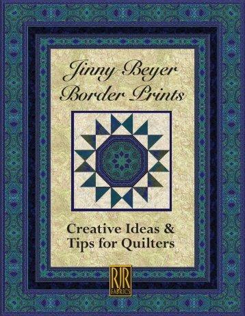 Border Print Fabrics - Jinny Beyer Studio