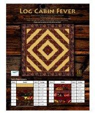 Log Cabin Fever - RJR Fabrics
