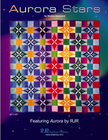 Aurora Stars - RJR Fabrics