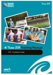 VIP - Facilitator Guide - Sport New Zealand