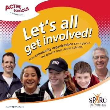 5476-3 SPC Community Organisations Active Schools - Sport New ...