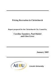 Pricing Recreation in Christchurch (PDF, 393 Kb) - Sport New Zealand