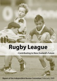 Rugby League - Contributing to New Zealand's Future (PDF, 1.38 Mb)